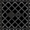 Left Arrow Navigation Icon