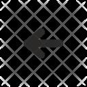 Arrow Left Navigation Icon