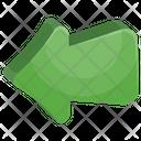Arrow Left Game Icon