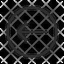Left Arrow Circle Icon