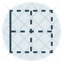 Left Border Outline Icon