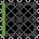 Left Border Border Table Icon
