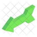 Left Bow Arrow Icon