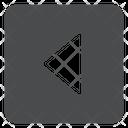 Left Carrot Square Icon
