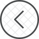 Left Chevron Circle Icon