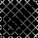 Corner Diagonal Arrows Icon