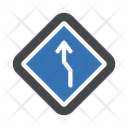 Left Curve Icon