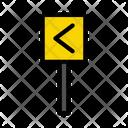 Direction Arrow Board Icon