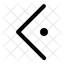 Left Dot Arrow Icon Direction Icon