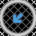 Left down Icon
