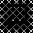 Left Interface Web Icon