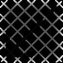 Call Received Arrow Leftdown Ui Web App Icon