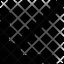 Arrow Bottom Left Icon