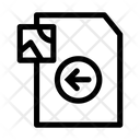 Left Image File Document Icon