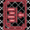 Left Indentation Icon