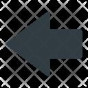 Left Indicator Flash Icon