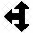 Left Intersection Arrow Icon