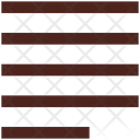 Left Line Align Alignment Icon