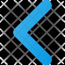 Left navigate Icon