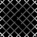 Arrow Left Back Icon