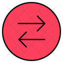 Left Right Transfer Exhchange Icon