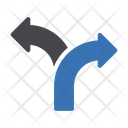 Arrow Direction Road Icon