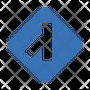 Left Road Icon
