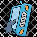 Left Side Crash Car Accident Automobile Icon