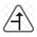 Left Side road Icon