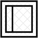 Left Sidebar Web Icon