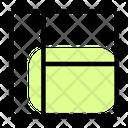 Left Sidebar Layout Icon