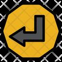 Left Sign Icon
