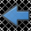 Left Signal Flash Icon
