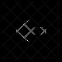 Left Square Icon