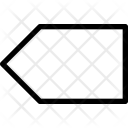 Left tag Icon