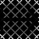 Left To Right Arrow Icon