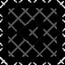 Left Triangle Arrow Direction Arrow Direction Icon