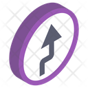 Left Turn Icon