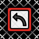 Arrow Location Navigation Road Sign Icon