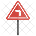 Left Turn Directional Icon