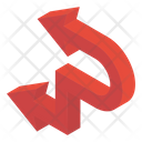 Left Turn Arrow Icon