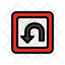 Arrow Location Navigation Road Sign Icon