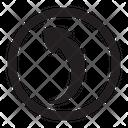 Left Symbol Desing Icon