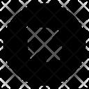 Left Upward Arrow Directional Arrow Arrowhead Icon