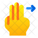 Left With Finger Icon