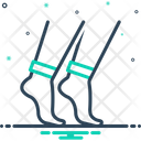 Leg Shank Foot Icon