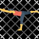 Leg Balance Icon