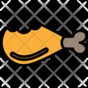 Diet Chicken Piece Icon