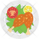Chicken Food Grill Food Icon