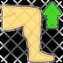 Leg exercise Icon